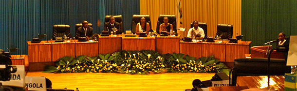Women outnumber men in the Parliament of Rwanda