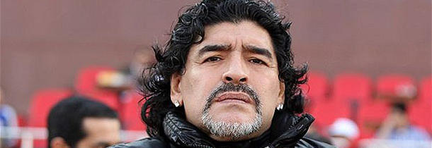 What did Maradona say in a football match in Mexico in 1986?