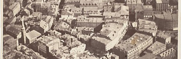 The world's oldest surviving aerial photo
