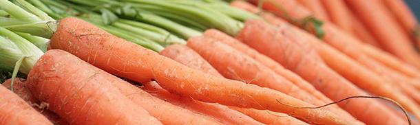 What colour were carrots originally?