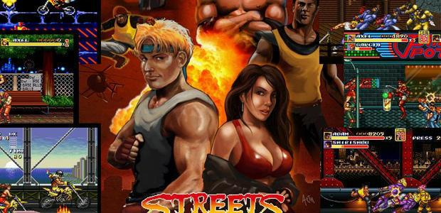 "What happened when some ""Streets of Rage"" fans recreated the game?"