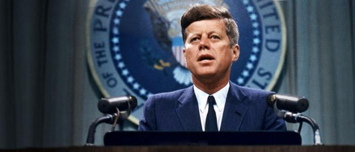 What was the unique characteristic of John F. Kennedy?