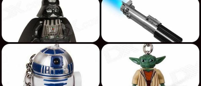4 key chains that only a true Star Wars fan will appreciate!