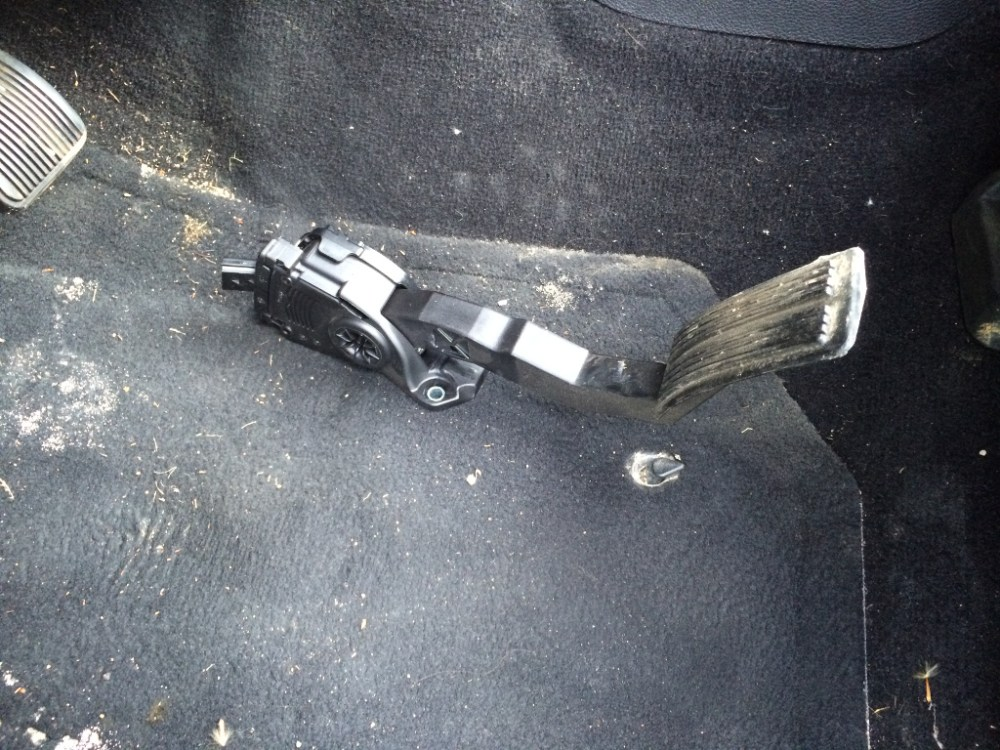 medium resolution of the fun part is removing the cover off the throttle pedal assembly it s snapped into place with a million plastic latches be careful