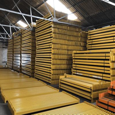 Used warehouse racking
