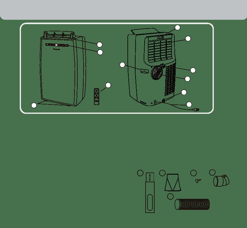 Manual de uso de Honeywell Air Conditioner MN12CES