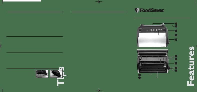 Foodsaver v2860 handleiding