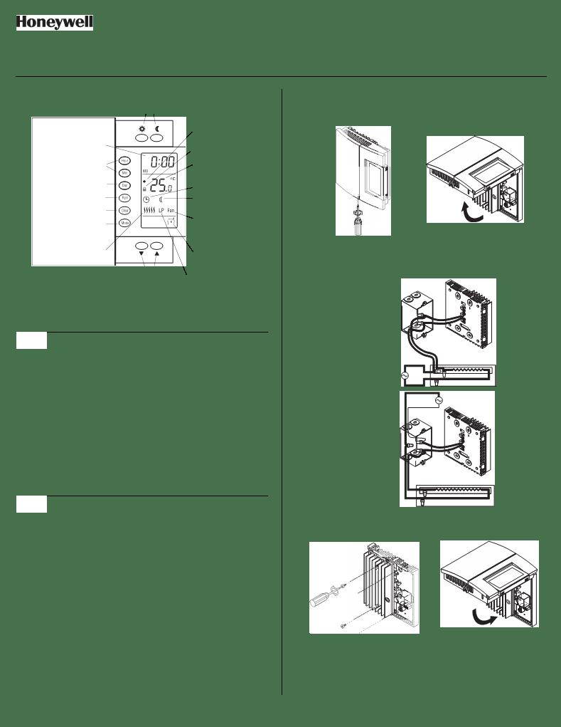 Anwendungsvorschrift Honeywell RLV450