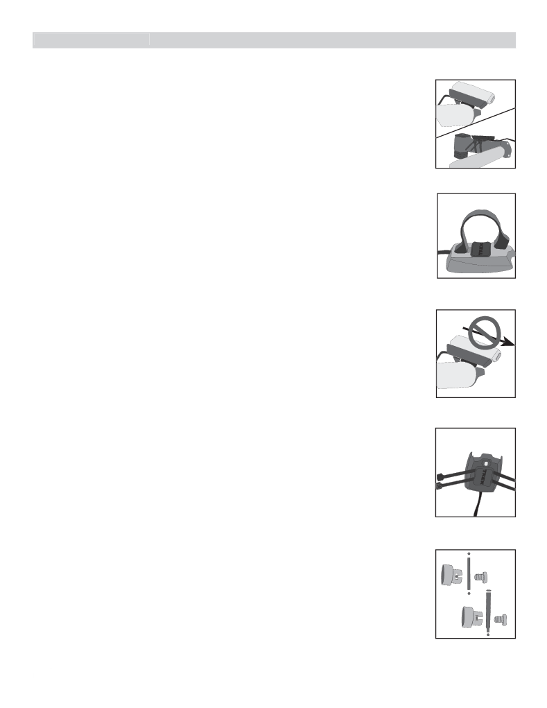 Anwendungsvorschrift Trek Incite 6i, 8i, 9i, 11i