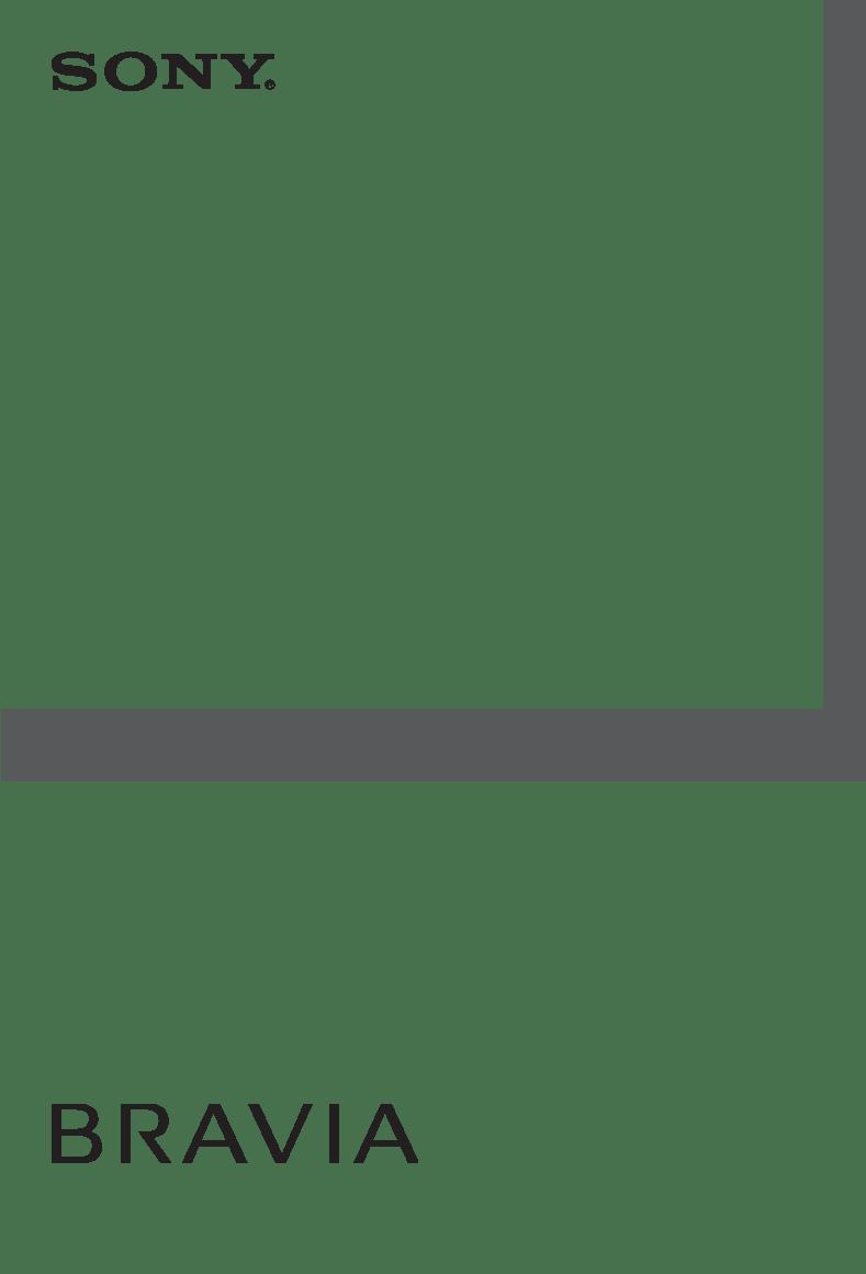 Anwendungsvorschrift Sony BRAVIA KDL-46X4500
