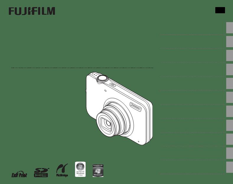 Gebruiksaanwijzing FujiFilm FinePix JX200 Series