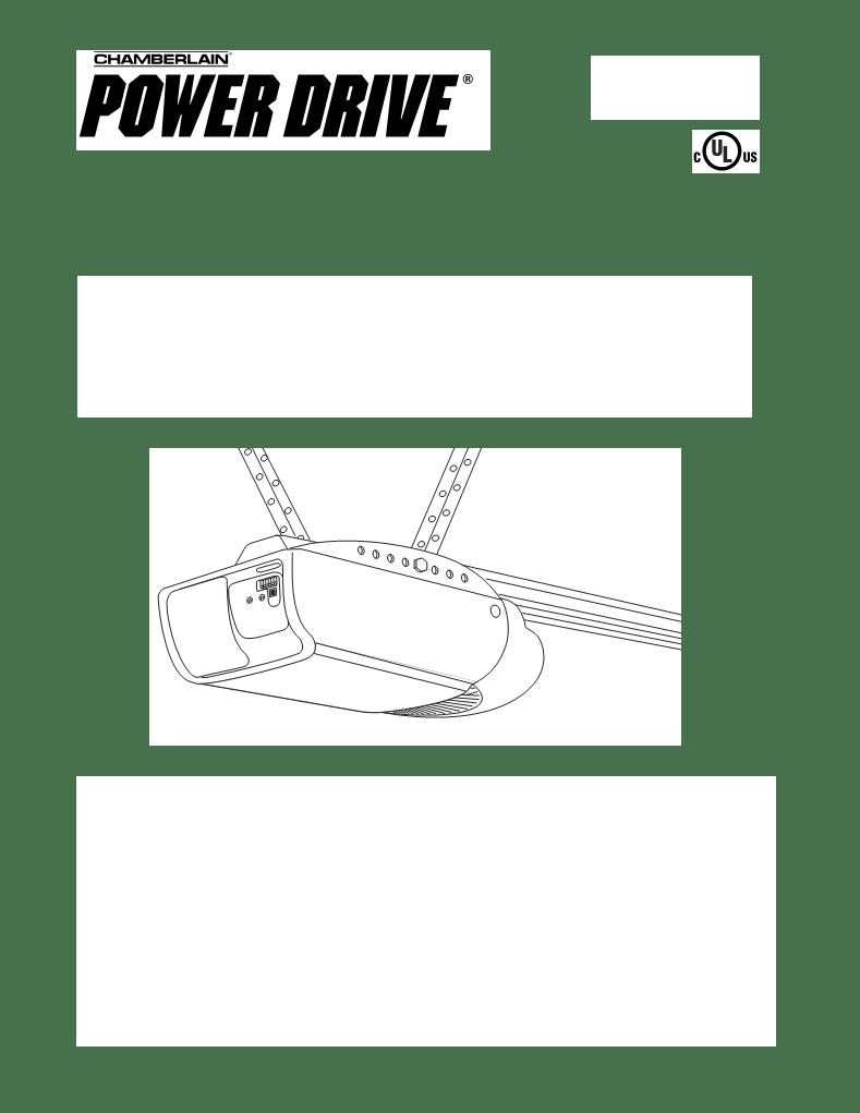 Chamberlain 050dctwf manual