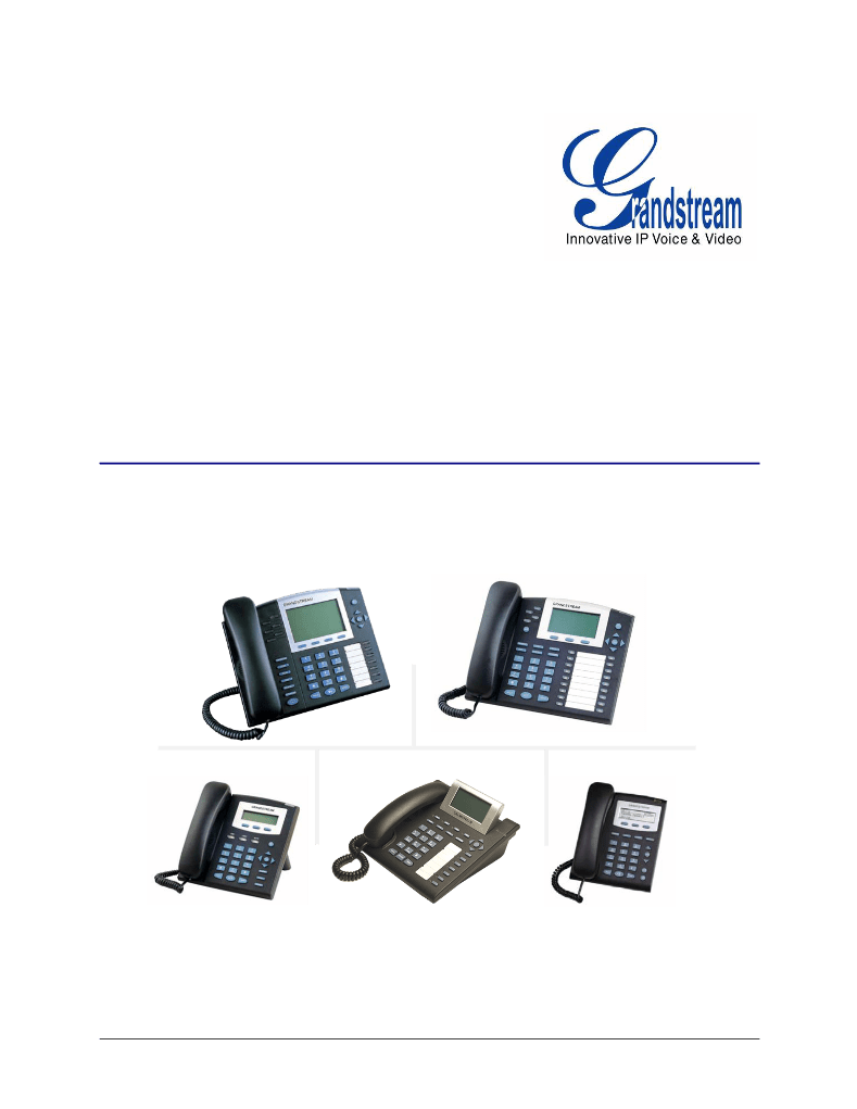 Manual de uso de Grandstream Networks ENTERPRISE GXP280
