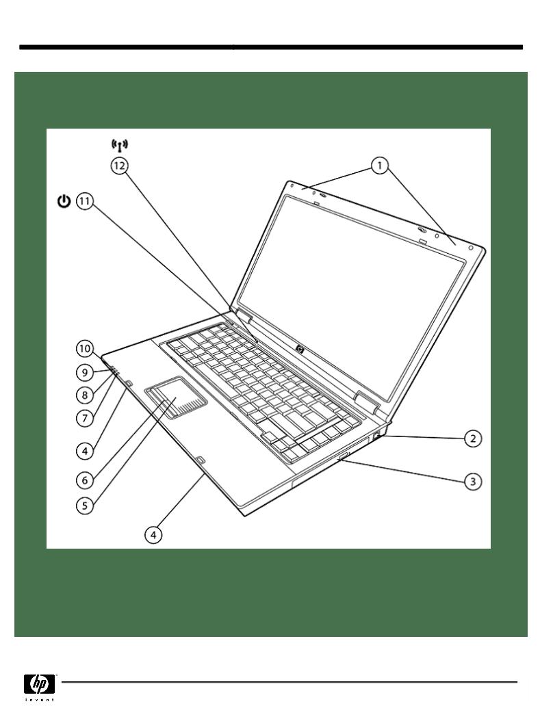 Anwendungsvorschrift HP (Hewlett-Packard) COMPAQ 6715s