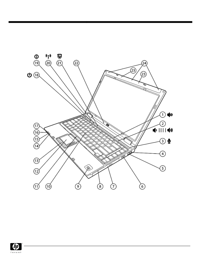 Manual de uso de HP (Hewlett-Packard) Compaq 6910p