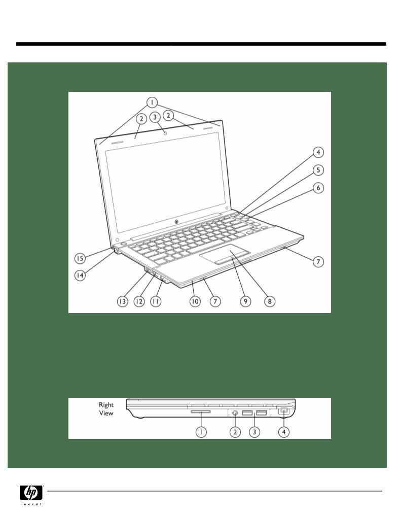 Gebruiksaanwijzing HP (Hewlett-Packard) PROBOOK 5310M