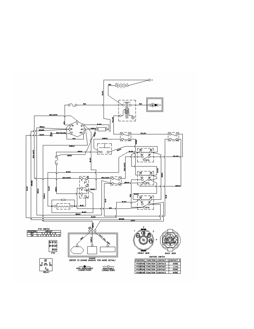 Yazoo Ignition Switch Wiring Diagram / 1957 Chevy