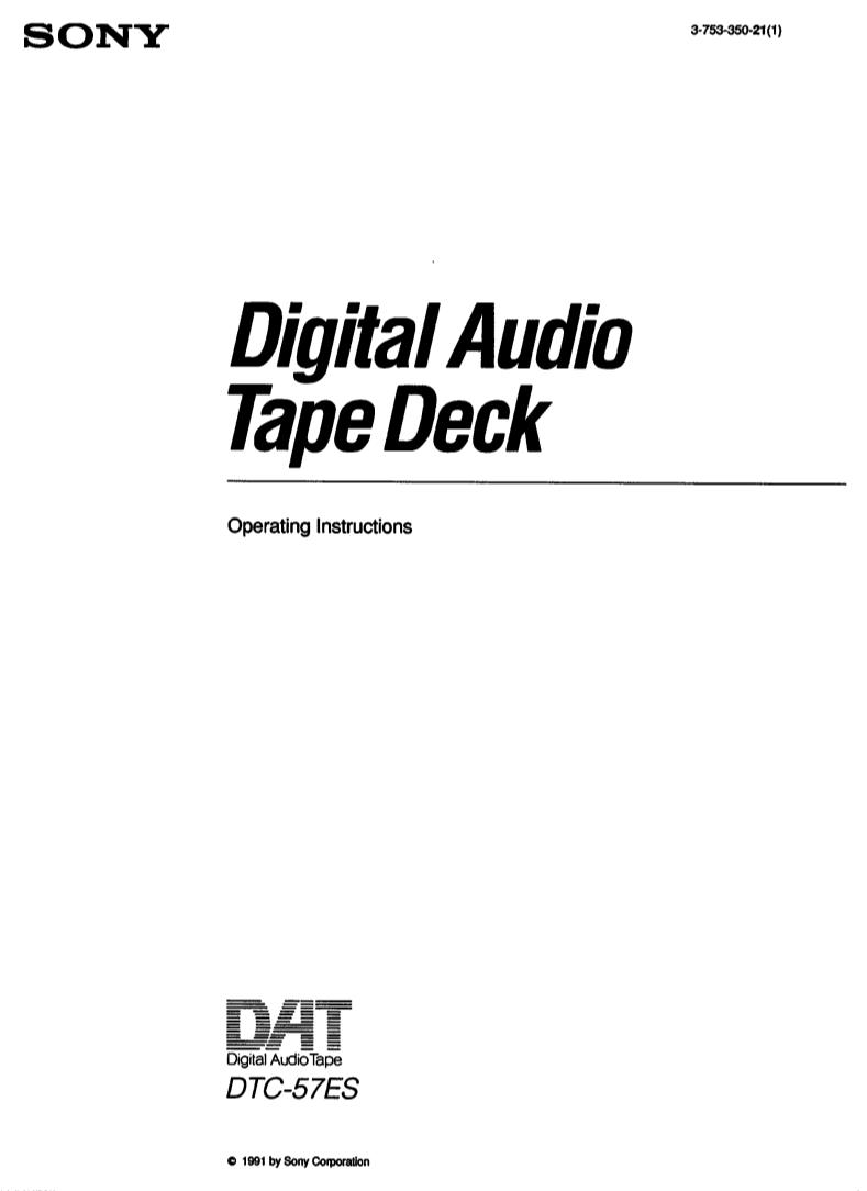 sony m-430 microcassette corder manuel d'utilisation