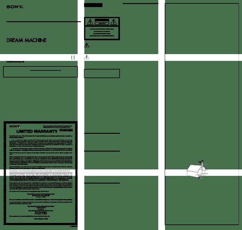 Sony Icf Cs15ip User Manual
