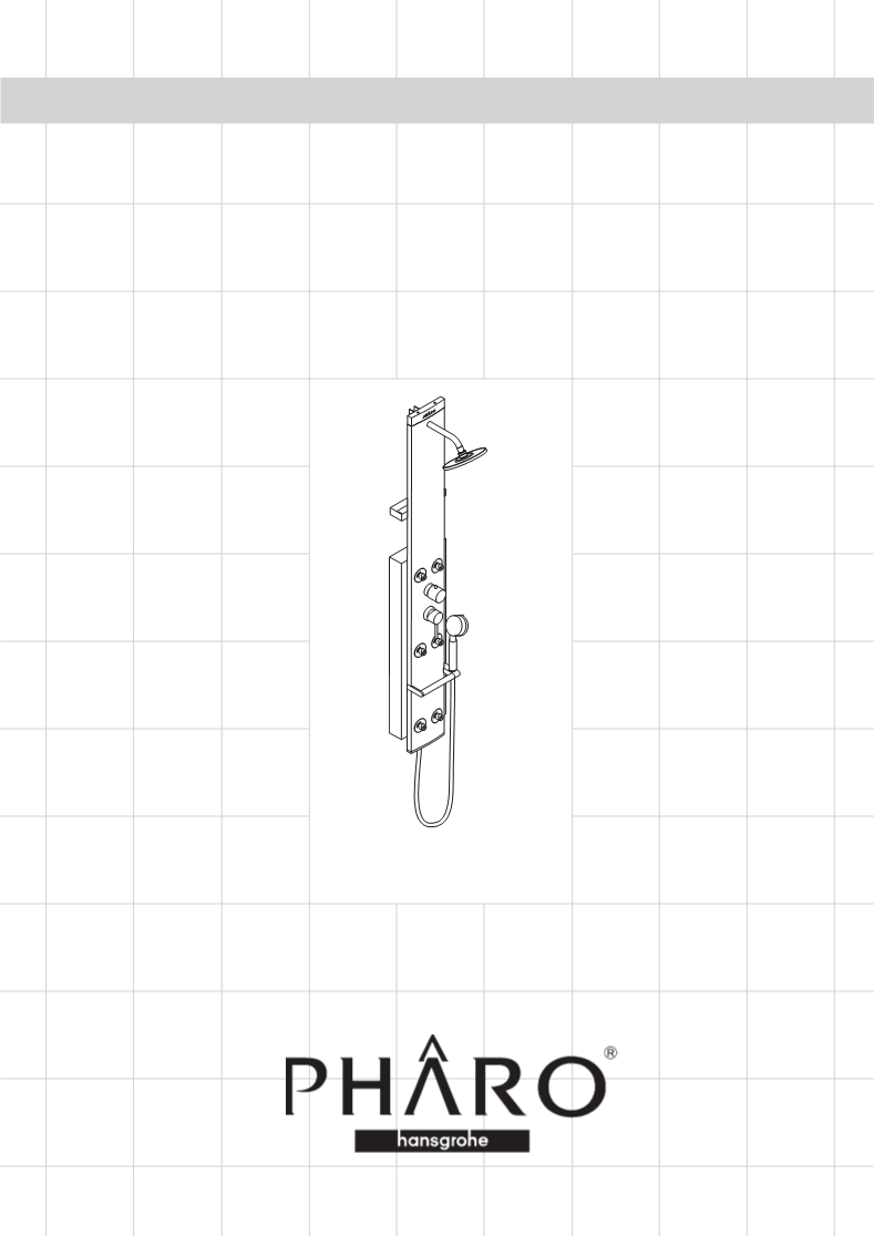 Gebruiksaanwijzing Hans Grohe Pharo DP Lift 2 M 20