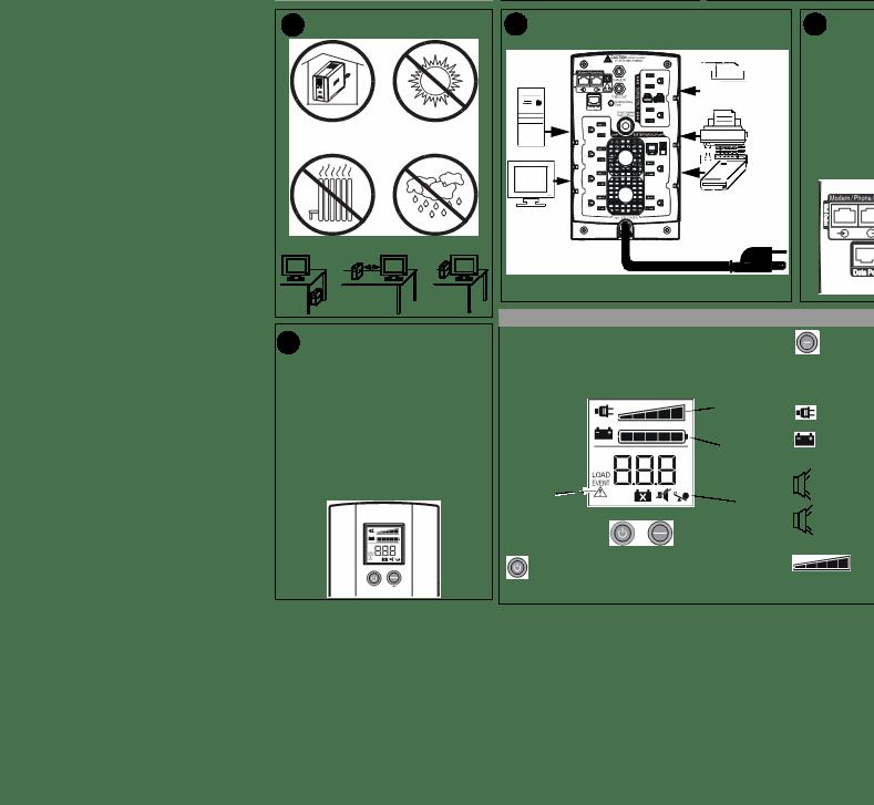 Anwendungsvorschrift APC Back UPS BR1300LCD