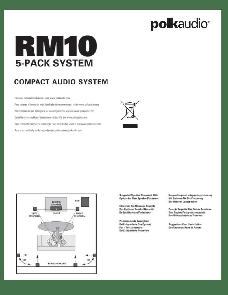 Polk Audio Psw125 Service Manual