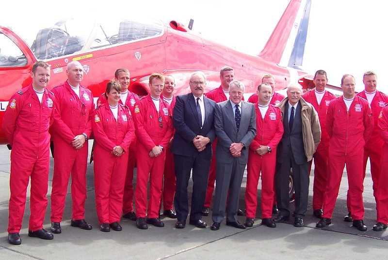 Red Arrows 40th Anniversary Displays 2004