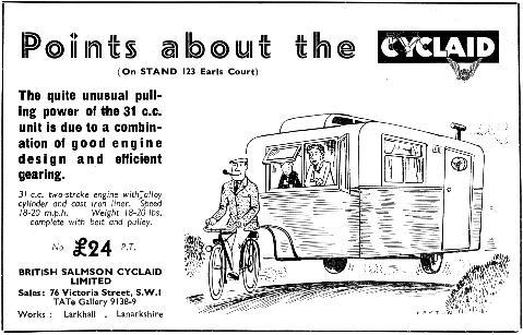 Cyclaid advert