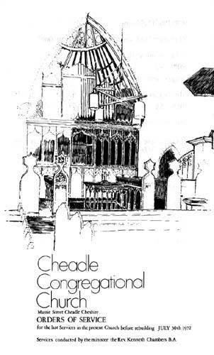 Cheadle Congregational Church1861-1972