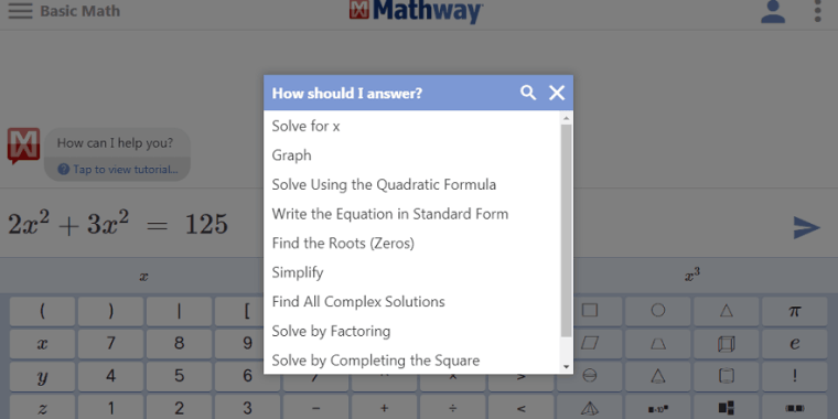 Mathway.com Review: Free Math Solver - UsersAdvice on