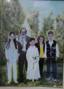 prima comunione famiglia