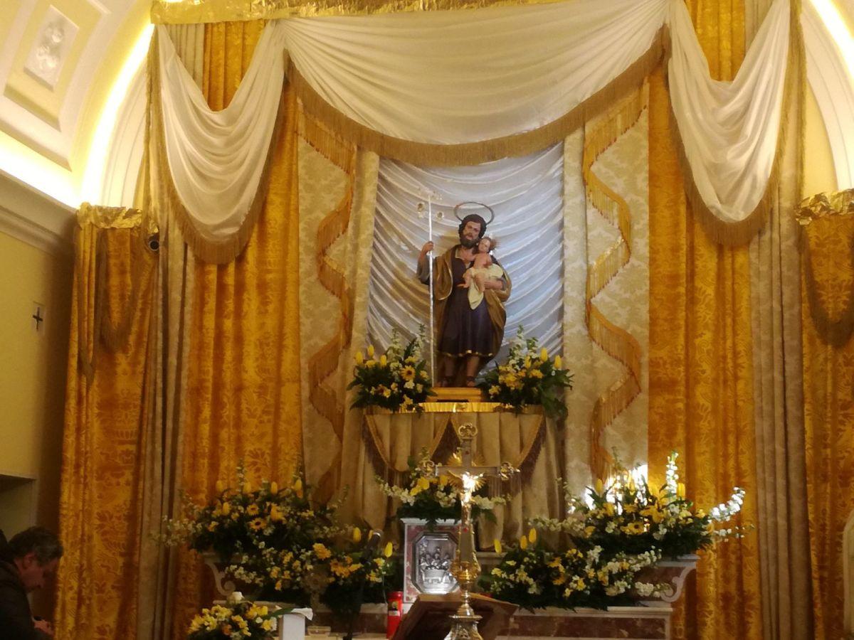 Montesarchio | Oggi la processione di San Giuseppe.
