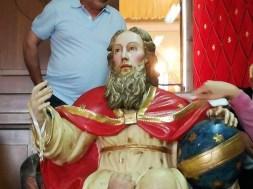 Trinità statua
