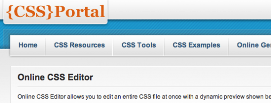 Online CSS Tools