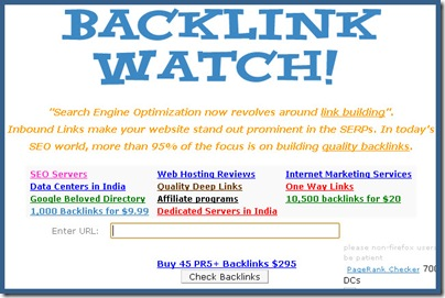 Backlink Watch Backlink checker tools
