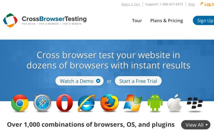 Cross-Browser Compatibility testing tool
