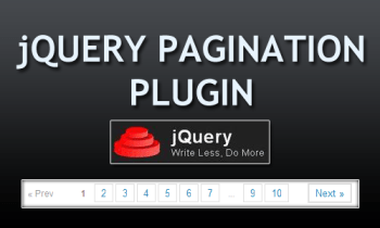 jQuery Pagination Plugins
