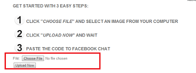 How to Post Any Photo To Facebook Chat