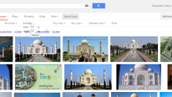 Search Images By Size in Google Images New Layout