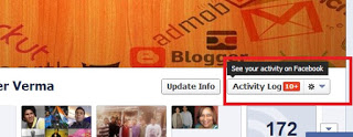 Activity log facebook