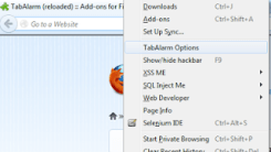 Schedule Tabs to Open at a specific time on Firefox with TabAlarm