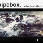 Swipebox - jQuery Lightbox Plugin with Responsive Layout and Touch Support