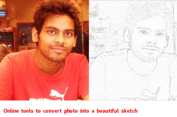 3 Free Online Tools to Convert Your Photo into a Photo Sketch