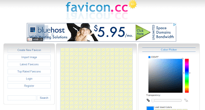 3 Websites to create Favicon for your Website