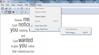 Select All GtText