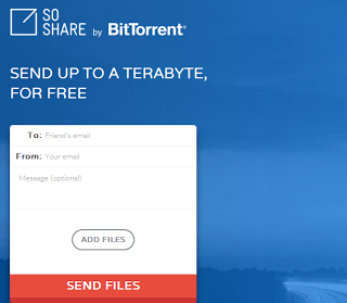 Share or Send Files up to 1 TB with SoShare