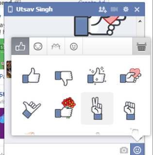 how to add stickers to facebook