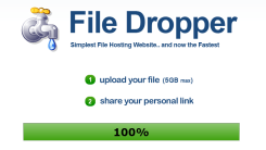 File Sharing Service With 5 GB Upload Limit – File Dropper