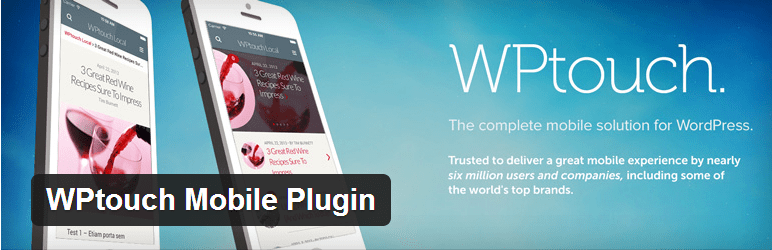 WpTOuch WordPress plugin for mobile friendly WordPress blog