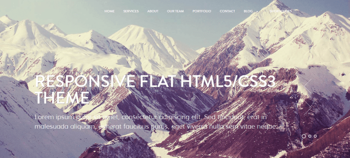 WordPress theme for photography